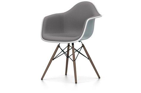 DAW Sedia imbottita Collezione Eames Plastic Armchair by Vitra design Charles