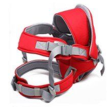 Red Front &Back 6in 1 Baby Infant Carrier Backpack Sling Newborn Pouch Wrap