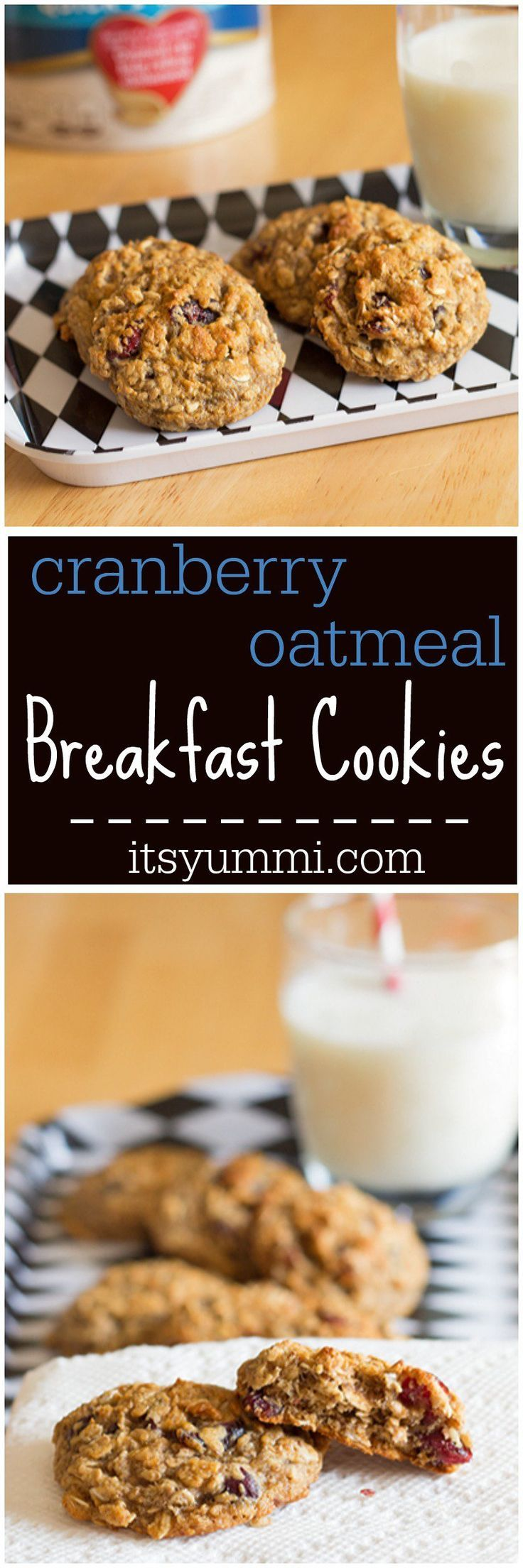 Oatmeal, Cookies and Cranberries on Pinterest