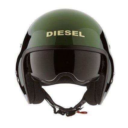 AGV Diesel Hi-Jack helmet black/green