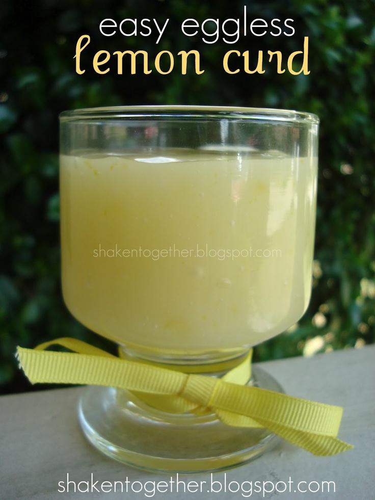 shaken together: {taste this} easy eggless lemon curd