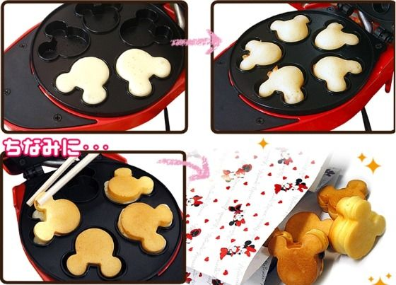 Mickey Mouse Mini Pancakes Maker Pancakes Waffles And Mice