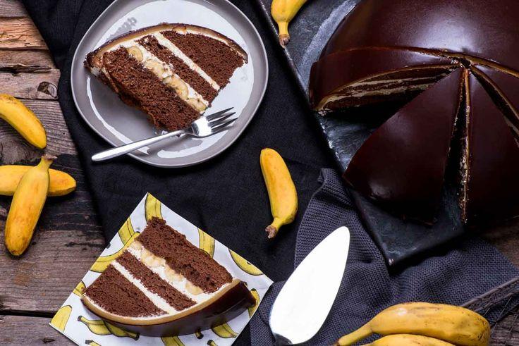 Mann backt Bananenbombe Bananentorte Bananenkuchen Marian Moschen (1 von 1)