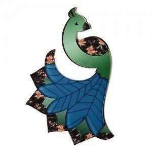 ERSTWILDER Peacock Brooch- FREE GIFT- **DISCOUNTS APPLY!