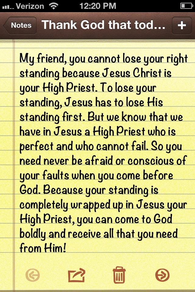Joseph Prince. How can we not be completely in love with Jesus?