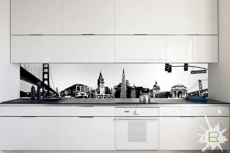 Fototapeta do kuchni San Francisco