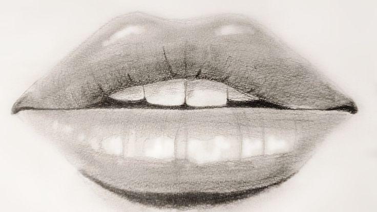 Wie zeichnet man einen realistischen Mund?