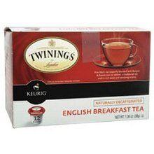Twinings English Breakfast Decaf Tea Keurig K-Cups, 72 Count - http://www.teacoffeestore.com/twinings-english-breakfast-decaf-tea-keurig-k-cups-72-count/