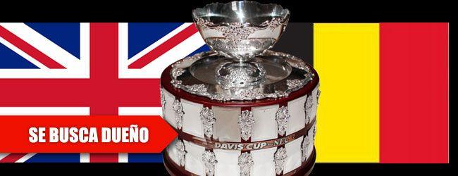 Bélgica y Gran Bretaña lucharán por la 'Ensaladera' de Plata en Ghent (Bélgica) este fin de semana en la final de la Copa Davis. Un momento único para ambos países de hacer historia en el mundo del tenis.
