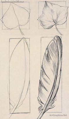 Großartige Erlernen des Zeichnens KAPITEL I Lancieren. Einfache Thema zum Zeichnen und P