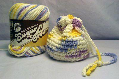 Itty Bitty Anything Bag free crochet pattern ~k8~
