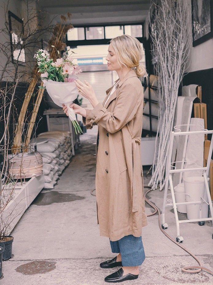 9f4cbe9e A bouquet of spring - Camilla Pihl | Miscellaneous | Burberry trench ...