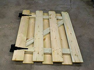 Im working on doing this with our new gate to our garden, using an old partial pallet.