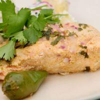 Anjum Anand's Tandoori salmon