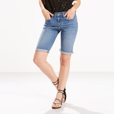 You'll be the picture of summer in our new Bermuda Shorts. This slim, lengthening silhouette pairs beautifully with your favorite top and shoes for a range of seasonal ensembles.