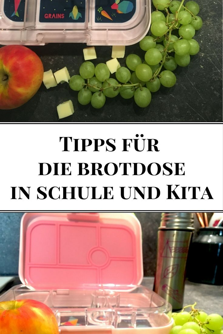 Praktische Brotdosen, hübsche Trinkflaschen, Zubehör und Rezepte für das leckere Pausenbrot  #lunchbox #brotdose #schule