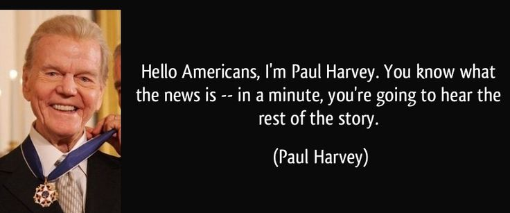 "One of Paul Harvey's best radio narrations, ""Policeman"" Listen, share, leave a comment..."