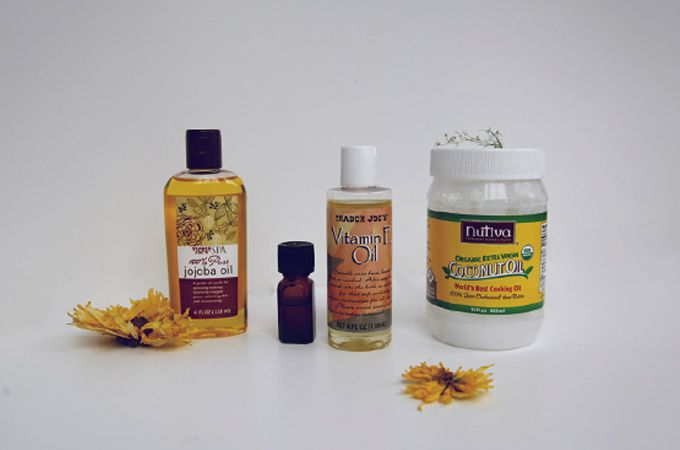Ingredients for your own conditioner!