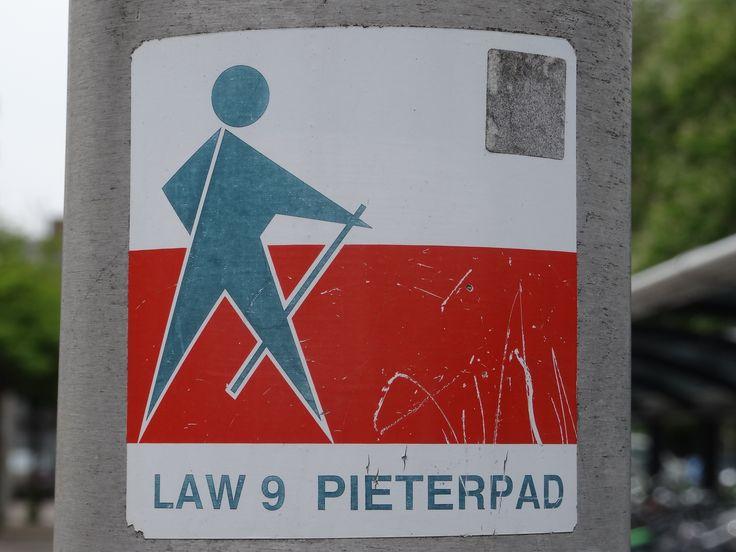 Pieterpad teken