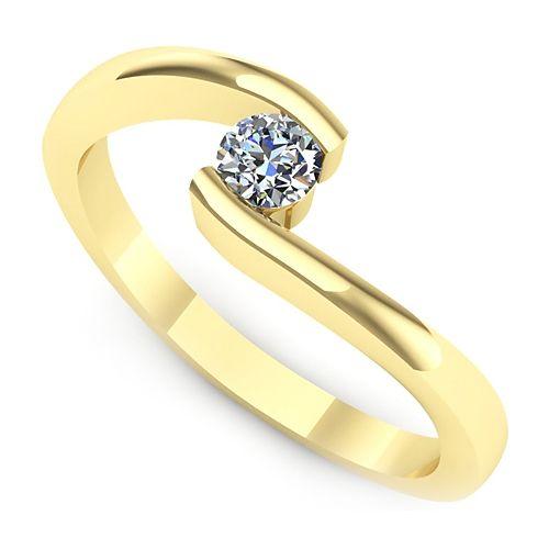 Inel logodna L38GDI Inel cu diamant
