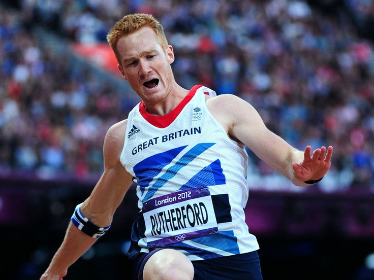 Greg Rutherford leapt to an unexpected gold in the men's long jump.