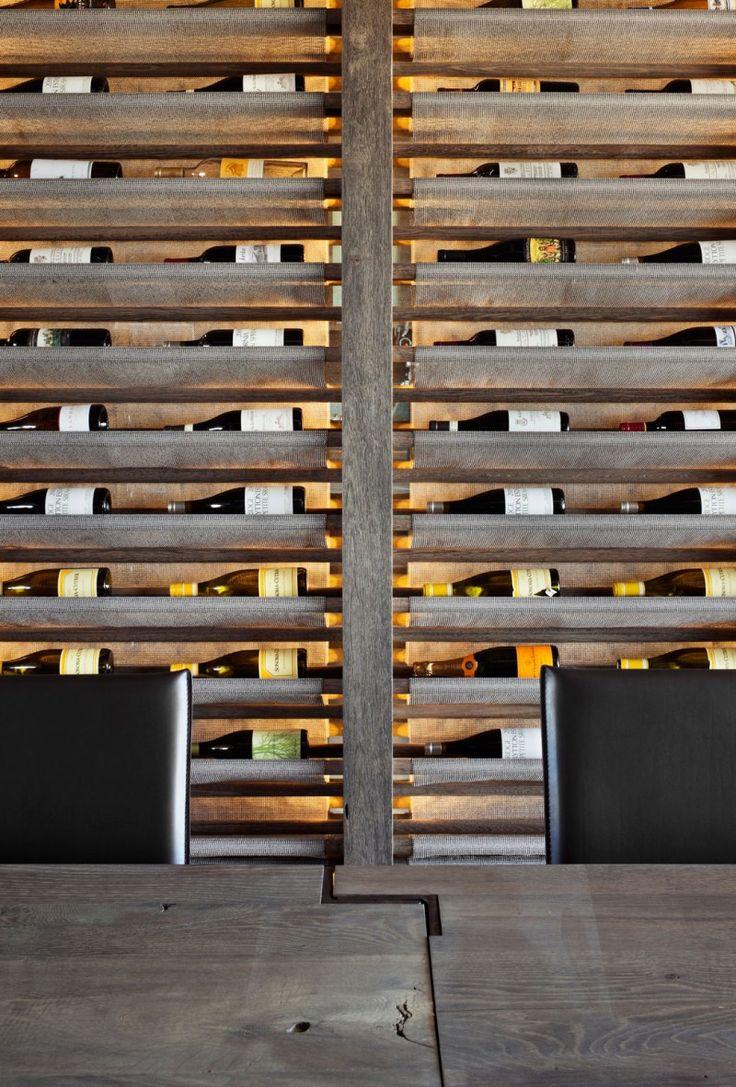 best in to wine racks images on pinterest  wine storage wine  - winning beautiful wooden wall wine rack design