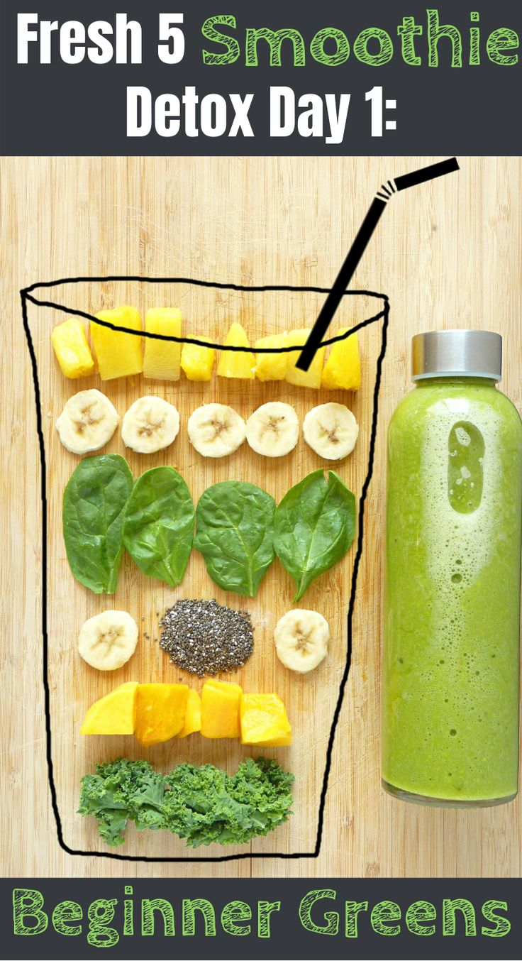 Fresh 5: 5 Day Smoothie DetoxKailey   Living Fresh Daily