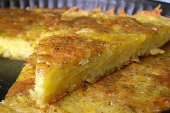 Fotopostup: Zemiakovo - syrový koláčik - To je nápad!