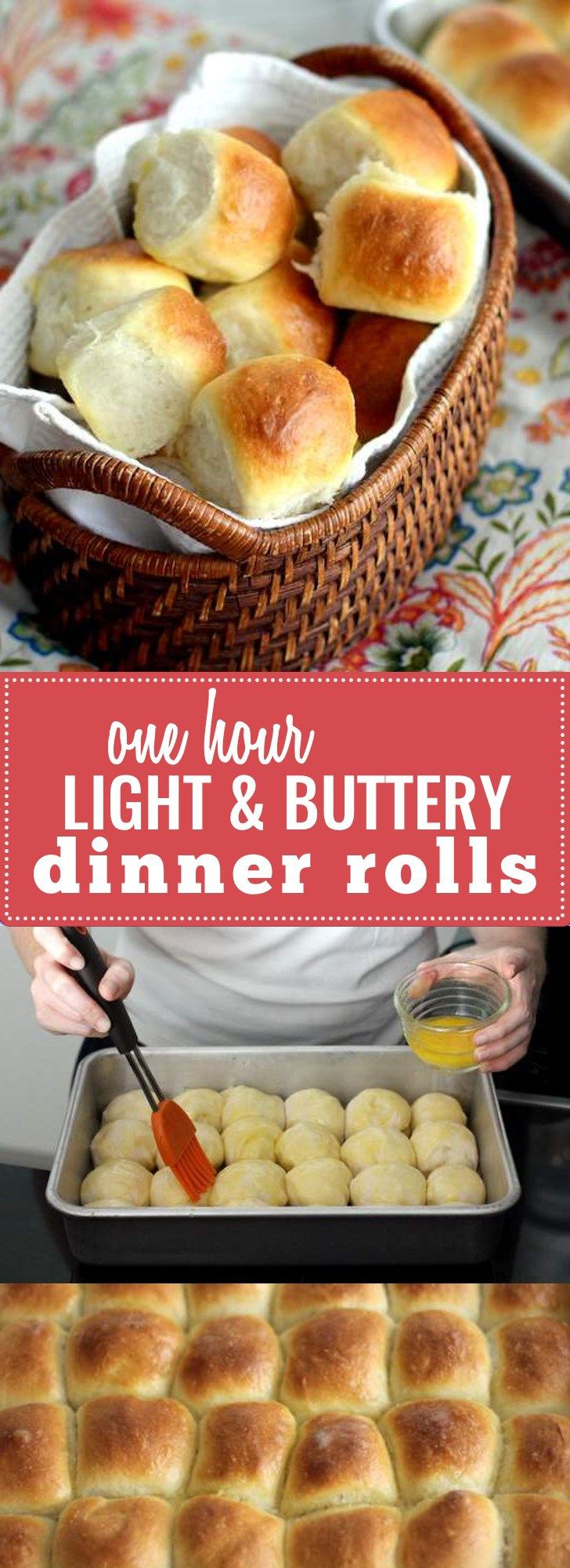 and Buttery Dinner Rolls- Have delicious, buttery, warm dinner rolls ...