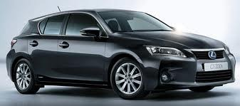 Love my new car. The Lexus CT200h is not only environmentally friendly, it's fast!