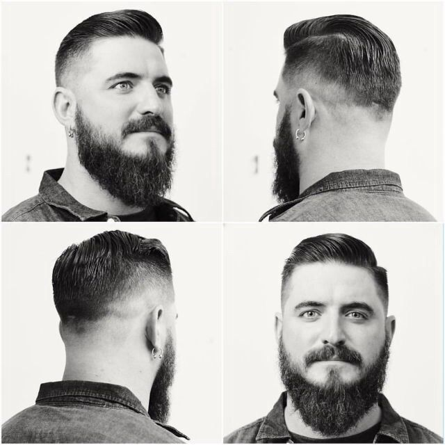 coupe de cheveux homme 1920