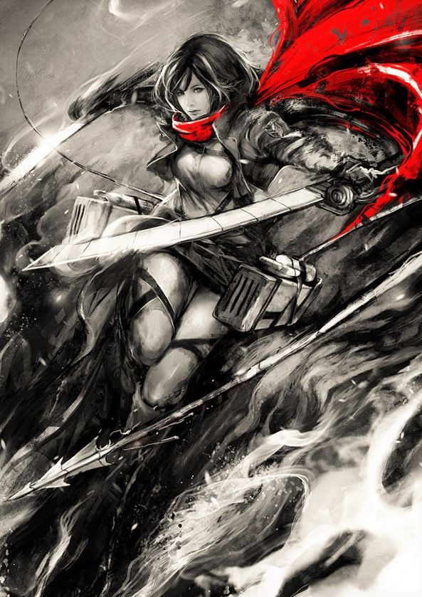 40 best attack on titan mikasa images on pinterest mikasa attack on titan mikasa voltagebd Images