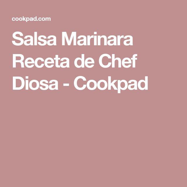 Salsa Marinara Receta de Chef Diosa - Cookpad