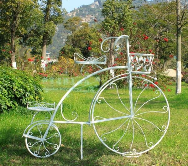 1441 best Planters On Wheels images on Pinterest | Bicycles, Garden ...