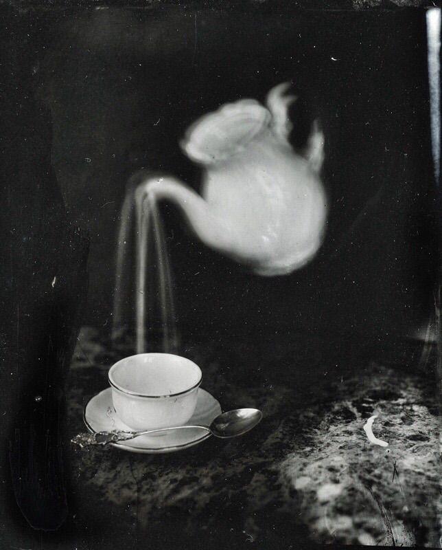 Collodion wet plate, Gloomy Afternoon by Karmela Kopcic