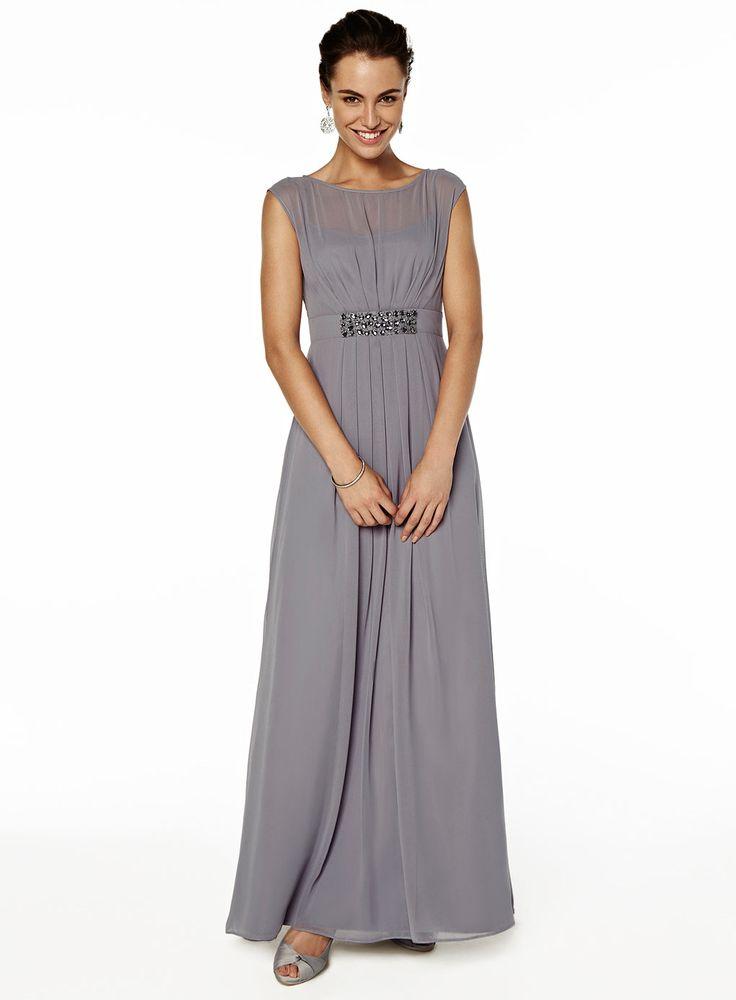 Pewter Grey Bridesmaid Dresses