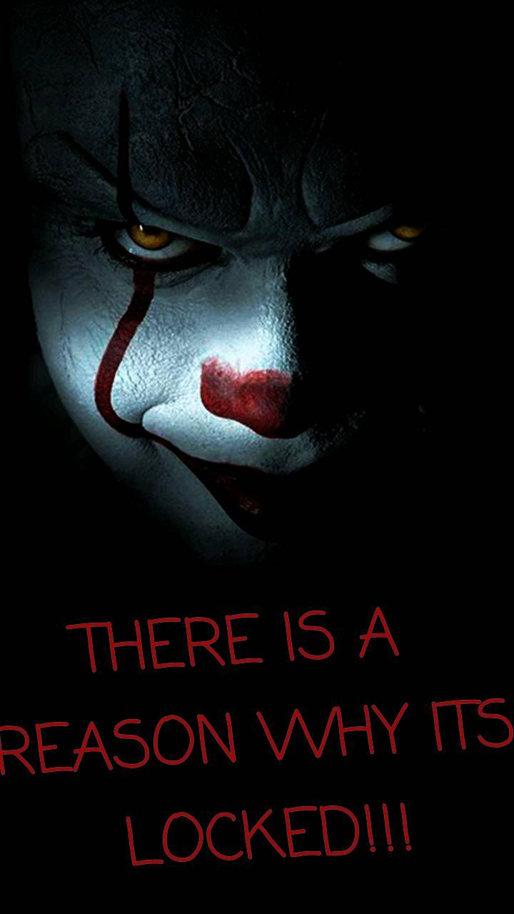Pennywise Thing Dont Touch My Phone Wallpapers Funny Phone Wallpaper Joker Iphone Wallpaper