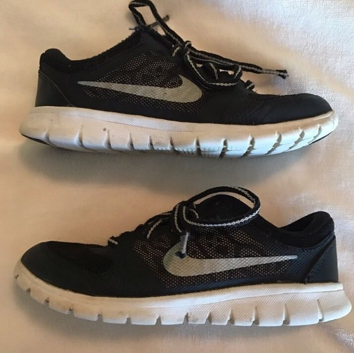 Nike Flex 2015 Run Boy's Running Shoes, Black , US 12C  | eBay