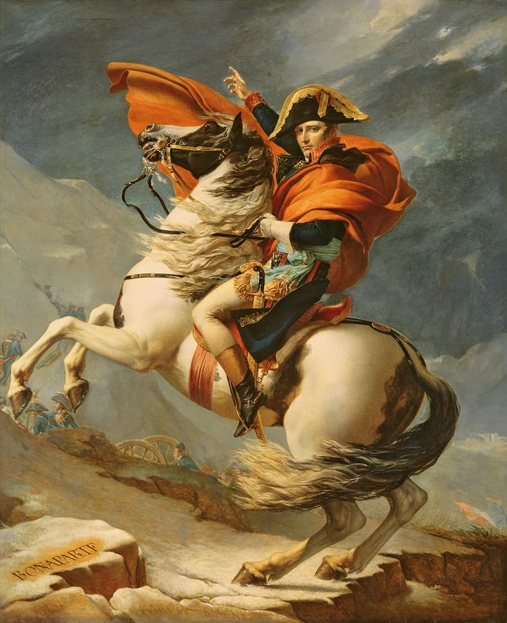 Cover Your Walls With The French Leader Riding His Horse Part 36