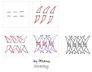 Strechy~Zentangle
