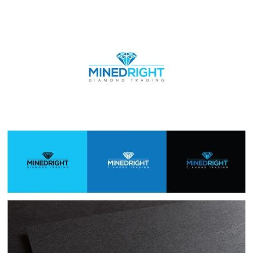 Mined Right Diamond Trading - Create a logo for a diamond wholesale company - Mined Right