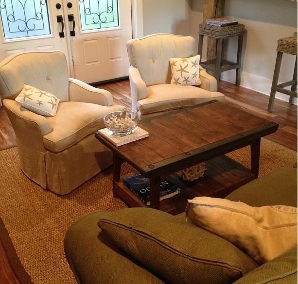 Landrum Tables custom furniture from reclaimed wood Charleston SC