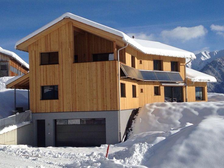 """Moderne Ferienwohung """"Caltgera"""" in Lumbrein, Val Lumnezia, Schweiz"""