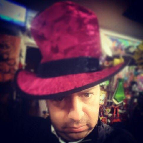 Sombrero de halloween - Halloween hat #hatguy #artdirector #directordearte #halloween