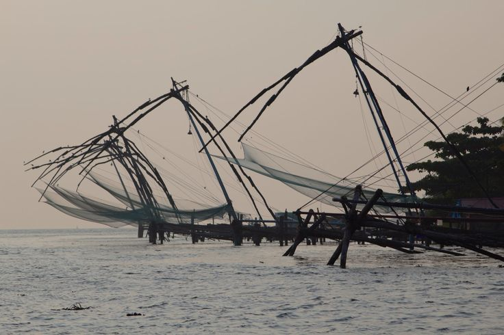 Chinese Fishing Nets, Cochin, Kerala
