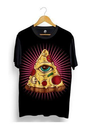 BSC Camiseta Pizza Iluminatti Full Print