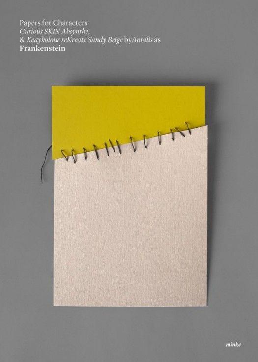 Minimalist paper posters