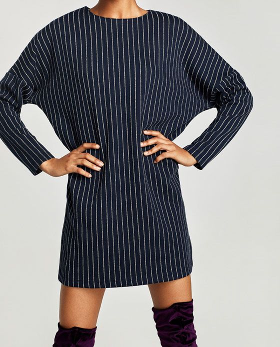 6777800006d Image 2 of PINSTRIPE DRESS from Zara