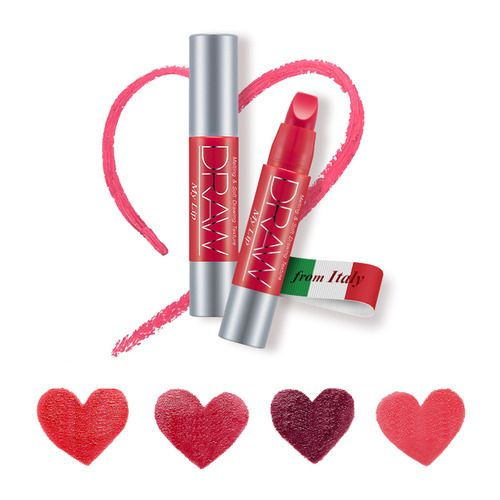 It is drawn as if it melts in the lips. Smooth, moist and sticky lip jumbo stick Rich moisturizing feeling The smoothing butter texture is moisturized. Produce gently shining lips. Edge Cut Shape You can easily create natural gradient lips and detailed lip lines.