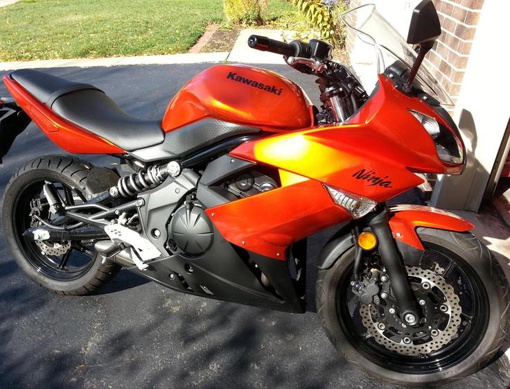 Rob rides a #Kawasaki 650R  #RTRC